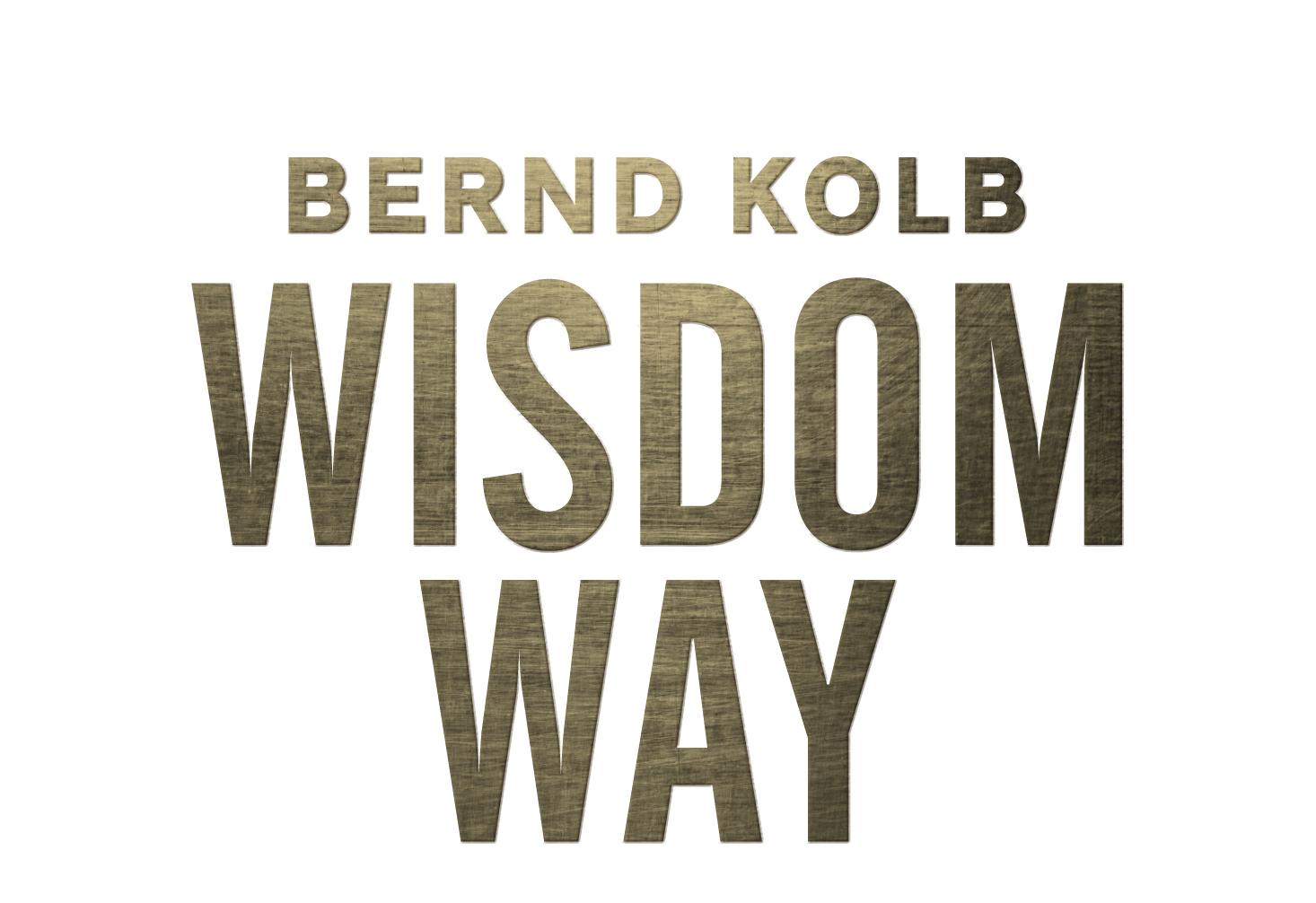 WISDOM WAY MIT BERND KOLB